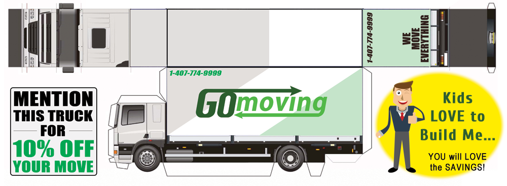 A Moving Truck for the Kids … and savings for you!